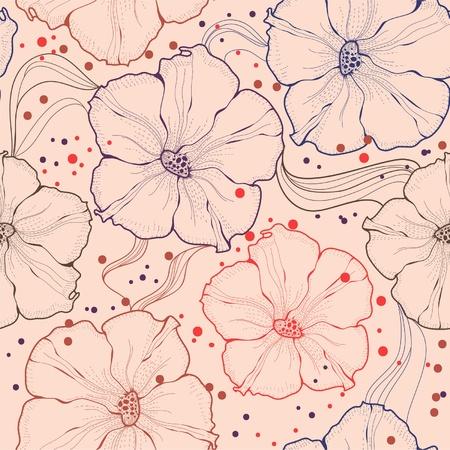 Flower simless Vector