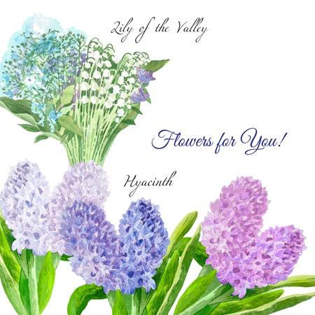Ensemble de fleurs de printemps Banque d'images - 77539127