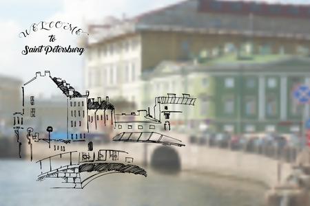 Saint Petersburg Street and Landscape Sketches