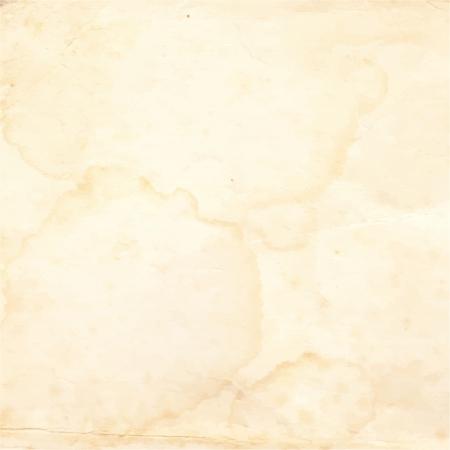 Old paper with spots. Vector ilusttration. Illustration