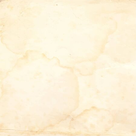 worn paper: Old paper with spots. Vector ilusttration. Stock Photo