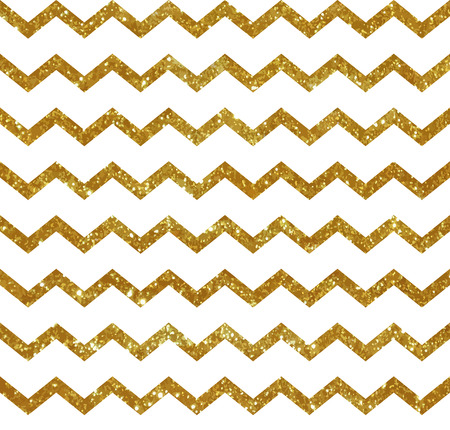 chevron pattern: Seamless pattern with golden stripes. Glitter texture.