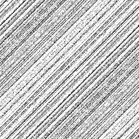 Grunge diagonale Streifen nahtloses Muster. Vektorillustration
