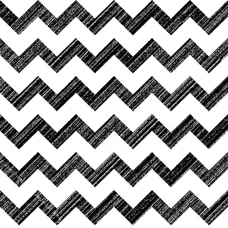Seamless chevron pattern with grunge texture
