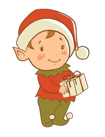 helper: Christmas elf