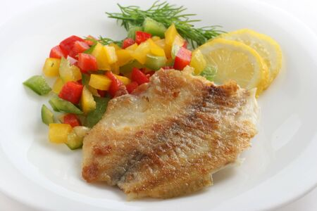 fried tilapia with pepper
