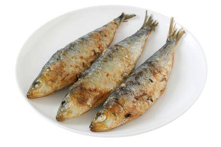 fried sardines photo