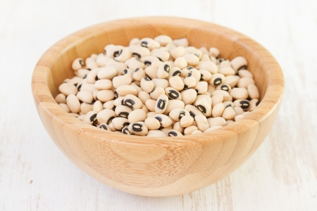 dry beans in bowl photo
