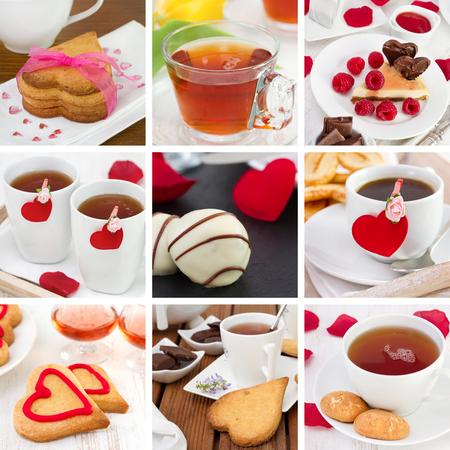 collage Valentines day photo