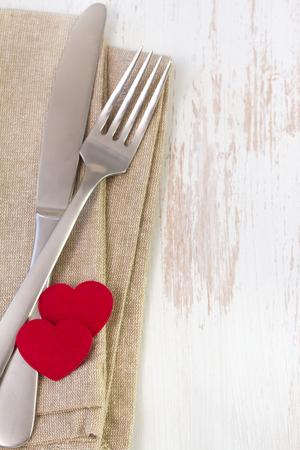servilleta: tenedor, cuchillo y servilleta