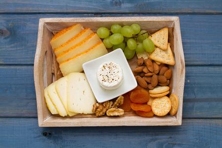 cheese platter: cheese platter Stock Photo