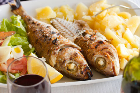 sardines: grilled sardines