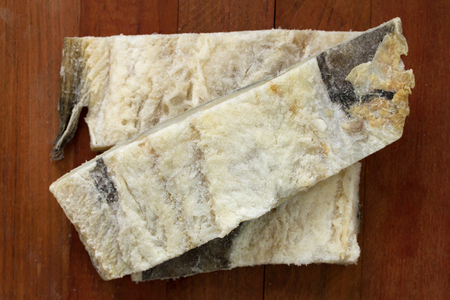 salted: salted codfish