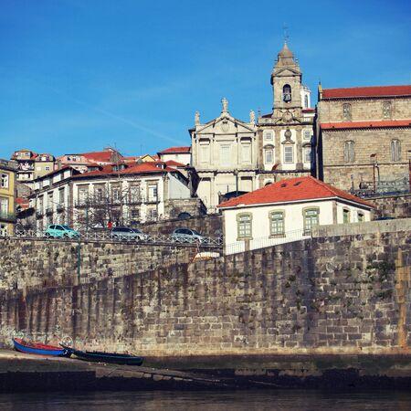 porto: view on city Porto, Portugal