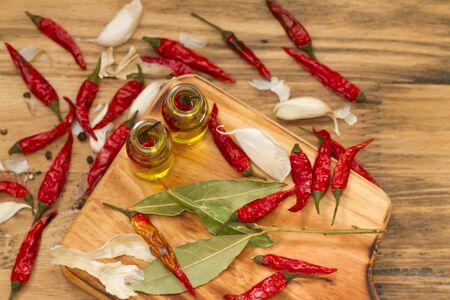 Huile d'olive au piment rouge piri-piri