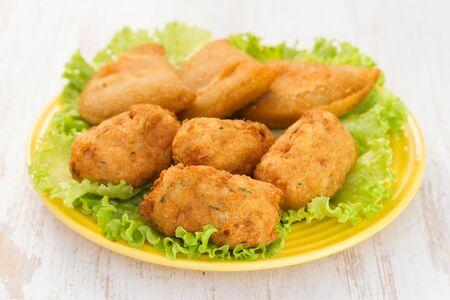 portuguese snack Stock Photo