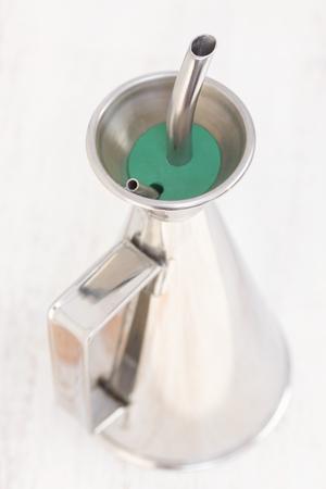 bottle for olive oil Stock Photo