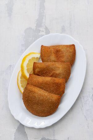 portuguese meat appetizer rissois de carne