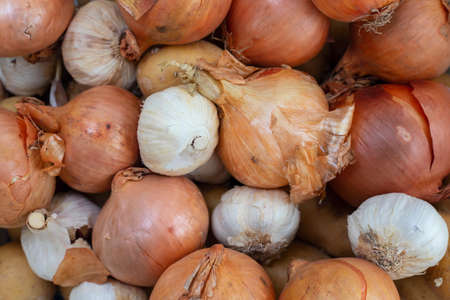 fresh mix of garlic and onion