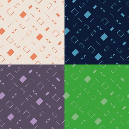 stylus: Seamless pattern that consists of modern gadgets. Tablets, smartphones, smart watches, stylus