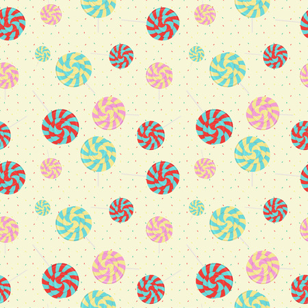 jellybean: Sweet candy seamless pattern modern style for holiday Illustration