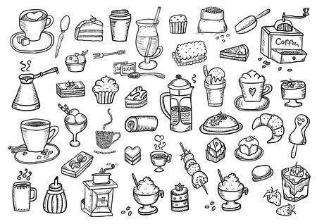 vanilla pudding: Caf� y dulces Set