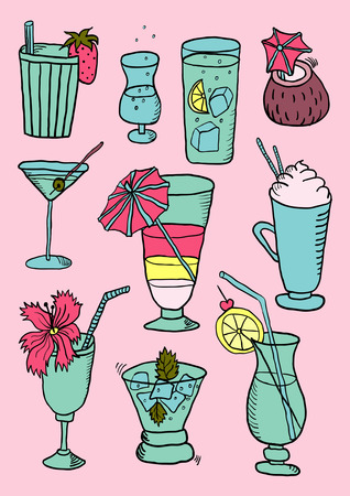 mohito: Hand Drawn Collection of Cocktails