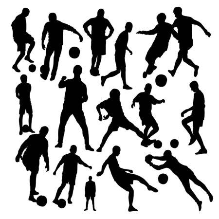 keeper: Football Silhouettes Set