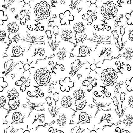 flores exoticas: Los insectos y las flores ex�ticas sin fisuras