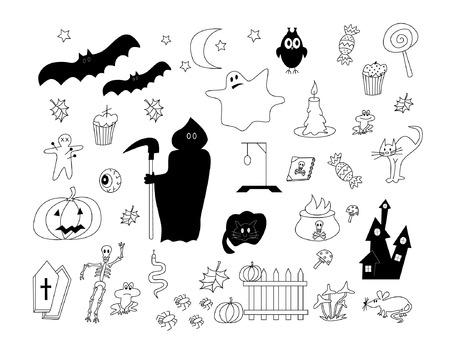 De Halloween Foto de archivo - 39124045