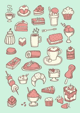 rebanada de pastel: Confitería dulce Color Configurar