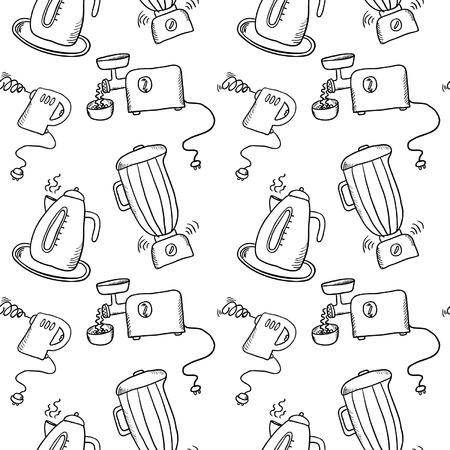 whisk: Kitchen appliances seamless