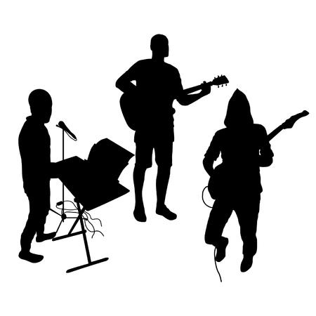 tenor: Music Silhouettes Set