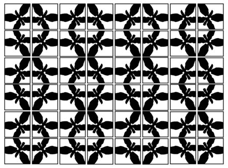 silhouttes: Vector Background Black Butterflies