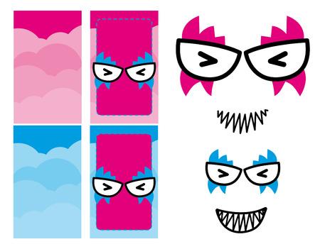 character design: Dise�o vectorial Car�cter