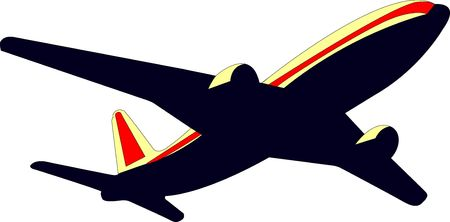Airplane picture Stock Photo