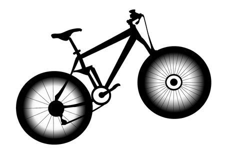 Foto van de fiets