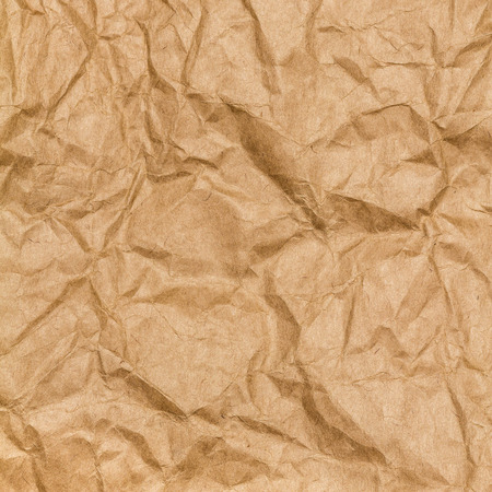 craft paper: Crumpled paper texture background. Craft paper sheet, brown color. Texture of crumpled paper.