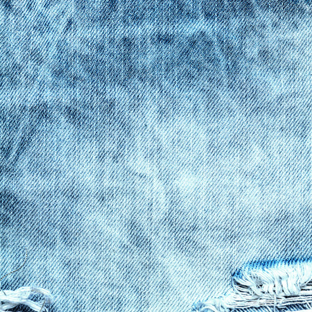 Blue jeans texture or textile background  close up Stock Photo
