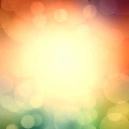 celebration background: Soft colored abstract background. Colorful circles of light abstract background  Stock Photo