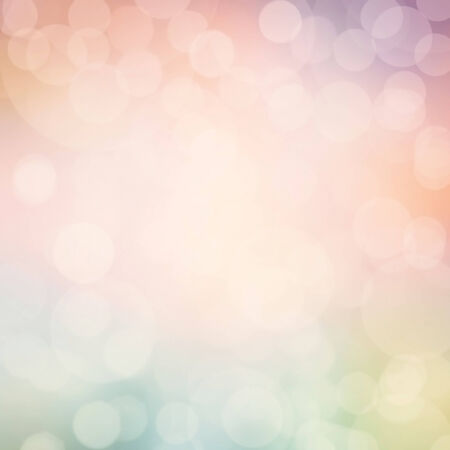 Abstract background in pastel colors. Twinkled bright background with bokeh defocused golden lights. photo