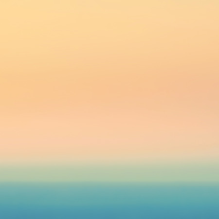 Smooth Pastel Abstract Gradient Background with yellow, pink and turquoise colors. Blurry abstract background  photo