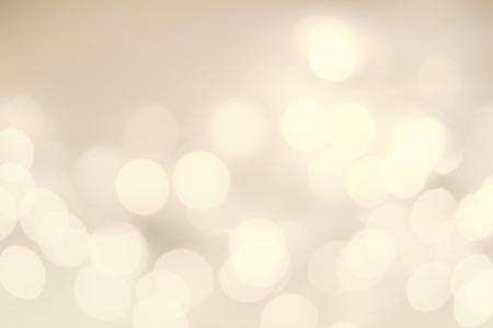 黄金ボケ ライトとビンテージのクリスマスの背景。