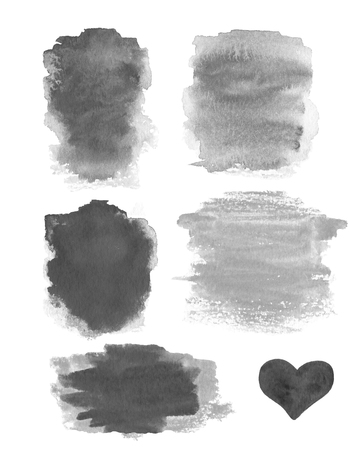 watercolor abstract: Abstract Watercolor design elements. Stock Photo