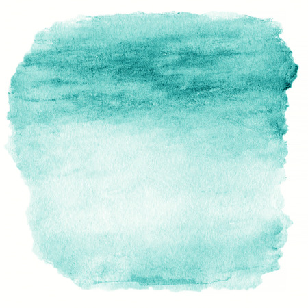 Green Watercolor Ombre Background.