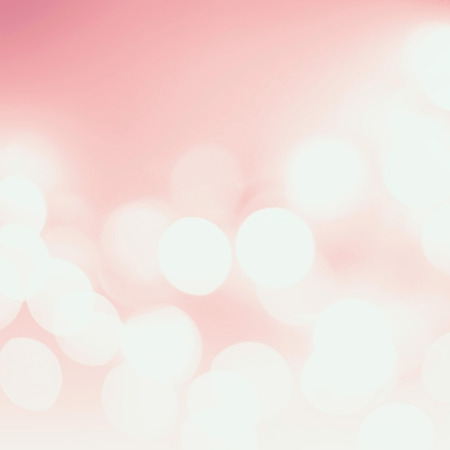 Pink and white  holiday bokeh.  Banco de Imagens