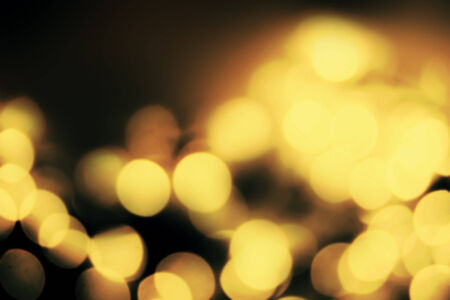 golden light: Abstract Festive background.