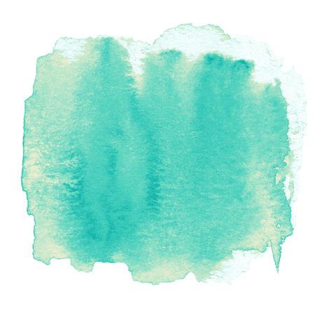 水彩抽象手描きテクスチャ ウェット インクの背景のためのスポット。壁紙、ポスター、広告の美しい水彩画の背景。
