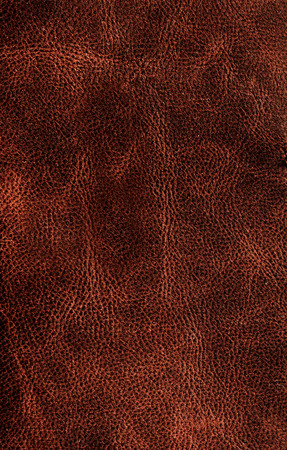 Brown leather texture background surface closeup for your design photo