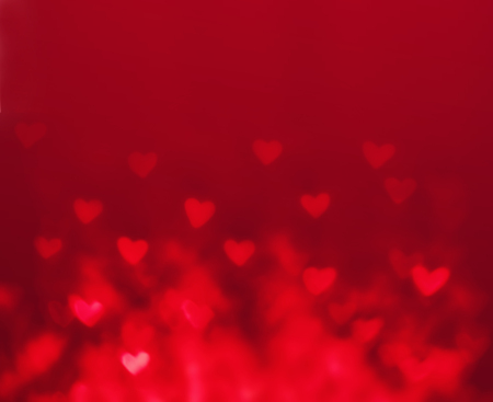 background pattern: Abstract Valentines day background with red hearts. Glow Colorful Soft Hearts for Valentines Day Background Design